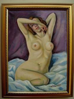 Picturi cu potrete/nuduri Nud02