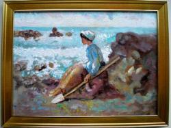 Picturi cu potrete/nuduri Pescarita1