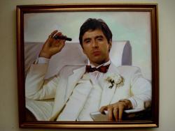 Picturi cu potrete/nuduri Portret Al Pacino2