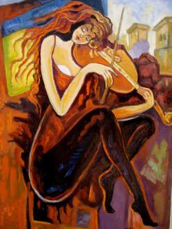 Picturi cu potrete/nuduri Recital2