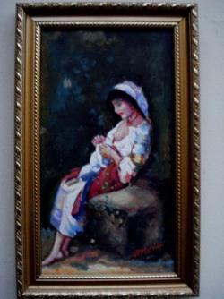 Picturi cu potrete/nuduri Tablou Tarancuta 015