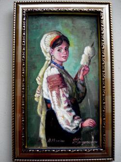 Picturi cu potrete/nuduri Tablou Tarancuta torcand17