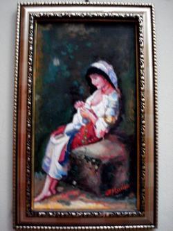 Picturi cu potrete/nuduri Tabloul Tarancuta15