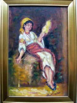Picturi cu potrete/nuduri Tarancuta torcand 016
