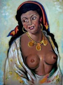 Picturi cu potrete/nuduri Tiganca01