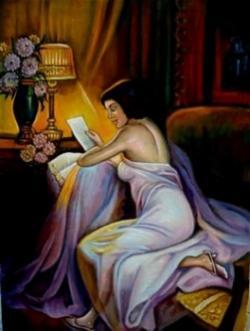 Picturi cu potrete/nuduri Violeta01
