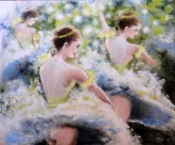 Picturi cu potrete/nuduri Spring waltz