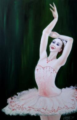 Picturi cu potrete/nuduri Spring waltz -2