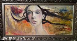 Picturi cu potrete/nuduri amintind de botticelli