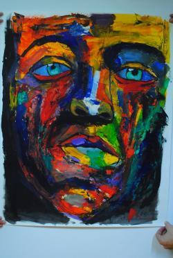 Picturi cu potrete/nuduri Suflet Abstract