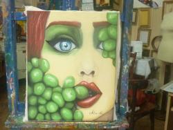 Picturi cu potrete/nuduri Grapes