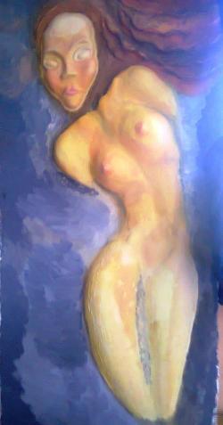 Picturi cu potrete/nuduri Rose, the slut