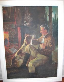 Picturi cu potrete/nuduri Tablou vechi