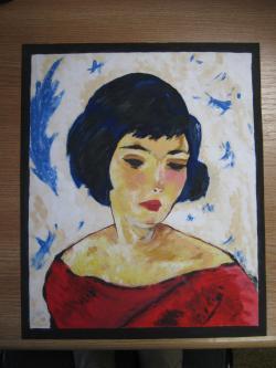 Picturi cu potrete/nuduri Chip de fata
