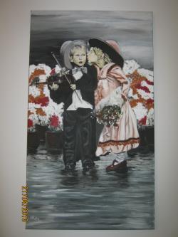 Picturi cu potrete/nuduri Intalnire