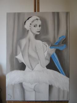 Picturi cu potrete/nuduri Moment de surprindere