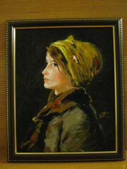 Picturi cu potrete/nuduri Profil de fata