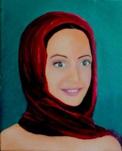 Picturi cu potrete/nuduri portret Ara