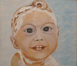 Picturi cu potrete/nuduri La baie