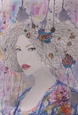 Picturi cu potrete/nuduri Amalia