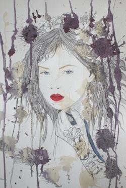 Picturi cu potrete/nuduri Emma