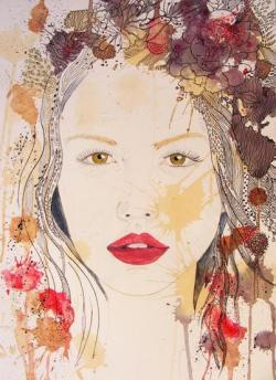 Picturi cu potrete/nuduri Eva 1