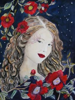 Picturi cu potrete/nuduri Noaptea fermecata