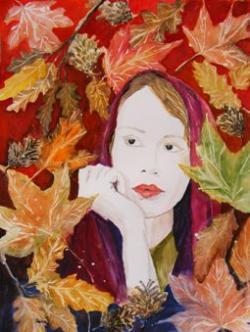 Picturi cu potrete/nuduri Pe aripile gandurilor