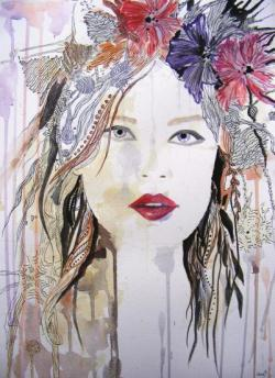 Picturi cu potrete/nuduri Spirit rebel