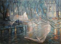 Picturi cu potrete/nuduri Siluete
