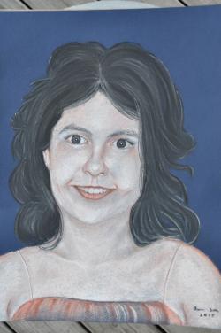 Picturi cu potrete/nuduri Portret adolescenta