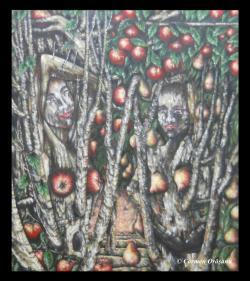 Picturi surrealism Tablou 10 (Instinct)