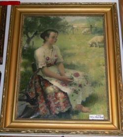 Picturi cu potrete/nuduri BUSULO MENYECSKE