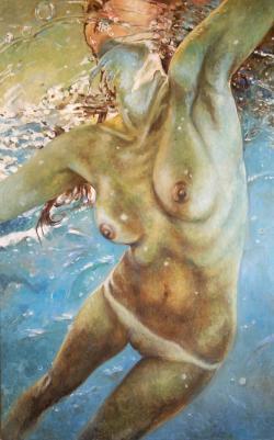 Picturi cu potrete/nuduri water