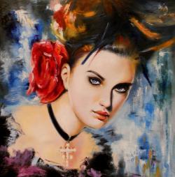 Picturi cu potrete/nuduri beauty 1