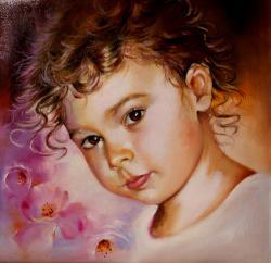 Picturi cu potrete/nuduri BIANCA portret