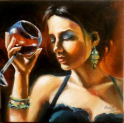 Picturi cu potrete/nuduri la bar