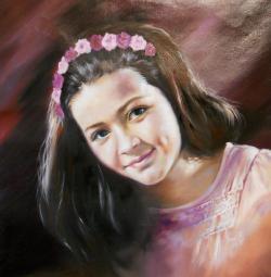 Picturi cu potrete/nuduri portret 2 2015