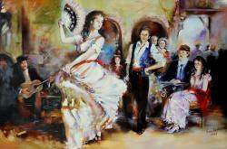 Picturi cu potrete/nuduri the last dance
