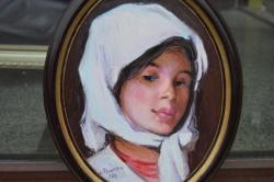 Picturi cu potrete/nuduri cap de fetita