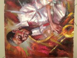 Picturi cu potrete/nuduri jazz 2