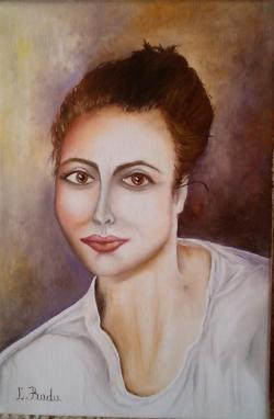 Picturi cu potrete/nuduri Tanara doamna