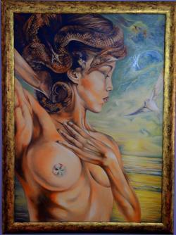 Picturi cu potrete/nuduri The power of beauty