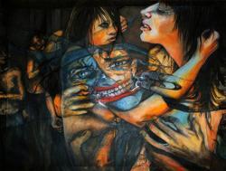 Picturi cu potrete/nuduri FIGHT CLUB