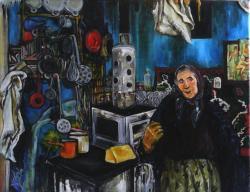 Picturi cu potrete/nuduri Granny Valeria