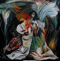 Picturi cu potrete/nuduri Queen Bathory