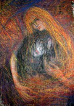 Picturi cu potrete/nuduri Sweet embrace