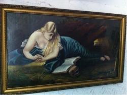 Picturi cu potrete/nuduri maria magdalena ingandurata