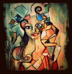 Picturi cu potrete/nuduri In dark euphoric