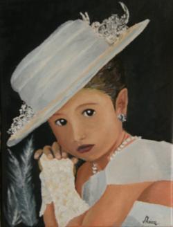 Picturi cu potrete/nuduri cocheta